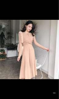[P.O] Midi Dress