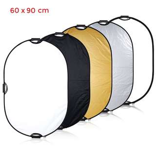 Pxel RF6X9 24x36inch 60x90cm Reflector with Grip Handle Photography