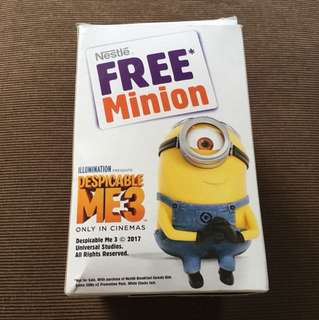 Nestle Limited Edition Minion Water Bottle