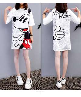 [PO] Mickey Mouse Tshirt Dress