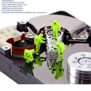Data Recovery Services for Storage Devices