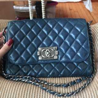 Chanel leboy clutch / shoulder bag