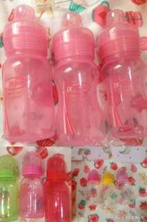1 pc dr brown & 6pcs baby bottle