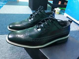 MSE Black Leather Shoes