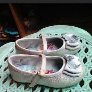 Frozen Silver Dollshoes