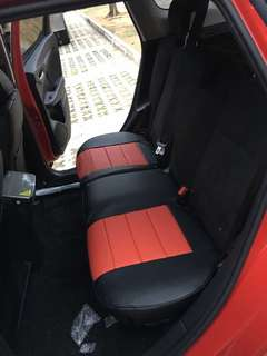 honda shuttle leather seat cover (customise)