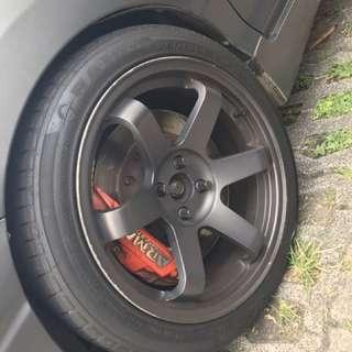 4 pot Arma speed brake brake kit currently