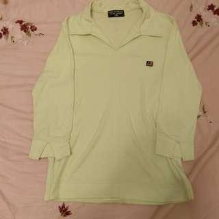 春裝 五分袖襯衫 polo衫 領子 #女裝半價拉