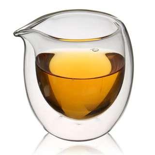 200ml insulation glass tea cup