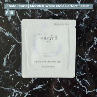 [ Etude House ] Moistfull White Mela Perfect Serum Sampler