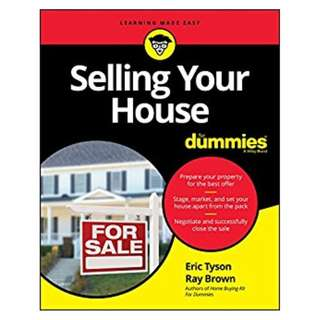 Selling Your House For Dummies (For Dummies (Business & Personal Finance)) Kindle Edition by Eric Tyson (Author),‎ Ray Brown (Author)