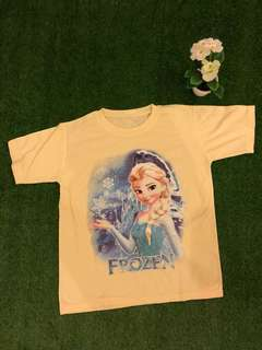 Elsa Frozen Yellow Top