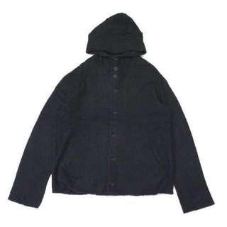 Yohji Yamamoto pour homme 山本耀司 連帽羊毛外套