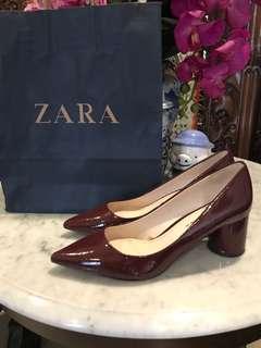Shoes Zara Maroon
