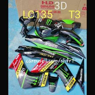Spark 135 Coverset