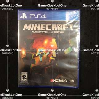PS4 Minecraft (RALL)