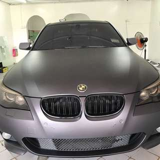 Bmw E60 523i Full Wrapping