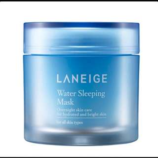 pre order Laneige Water Sleeping Mask