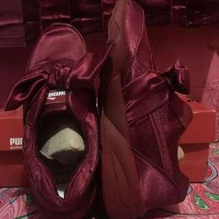Sepatu puma fentybow uk, 40 )kecil)