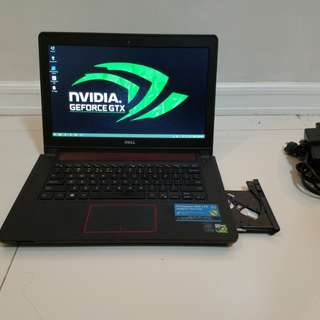 Dell inspiron 7447 Gaming Core i5 2.90Ghz 12GB Ram 4GB Nvidia GTX850M