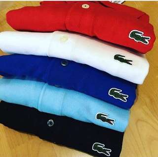 💯% Authentic Lacoste Polo-Tees