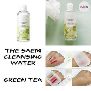 BN The Saem Healing Tea Garden Green Tea Cleansing Water