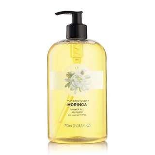 Body Shop Moringa Shower Gel [750ml]