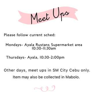 Meet ups
