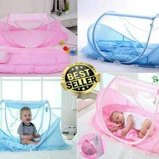 Tempat Tidur Bayi Series Dengan Kasur dan bantal