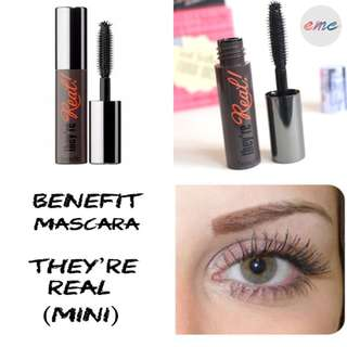 BN Mini Benefit They're Real Mascara