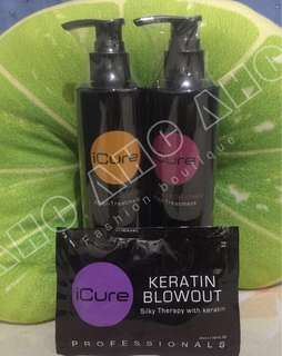 iCURE KERATIN BLOWOUT TREATMENT ORIGINAL