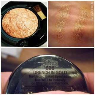 Milani Baked Eyeshadow - Drenched in Gold