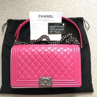 #more detail# chanel  le boy bag