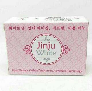 Jinju White Korean Soap