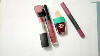 Tint and lipsticks Bundle