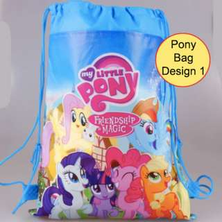 My Little Pony  Drawstring Backpack (FREE Pay Only Shipping)