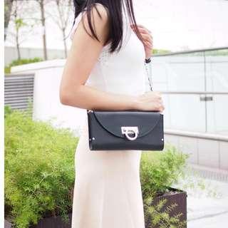 💥FERRAGAMO 黑色3 WAY BAG 💕