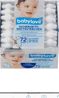 Babylove 100% Cotton Buds