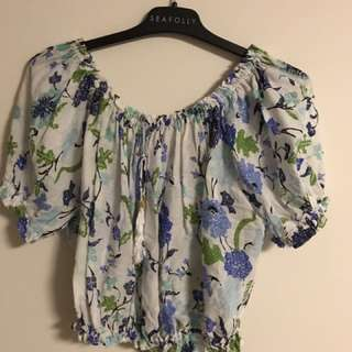 Arnhem floral summer top