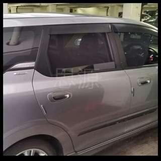 Honda airwave 全車防曬隔熱窗網
