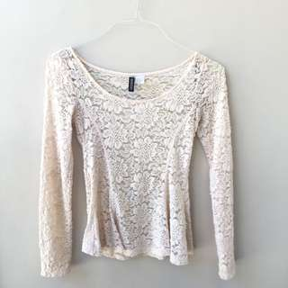 H&M Lace Top
