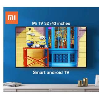"TV Xiaomi 32""43""49""inches  Smart andriod TV"