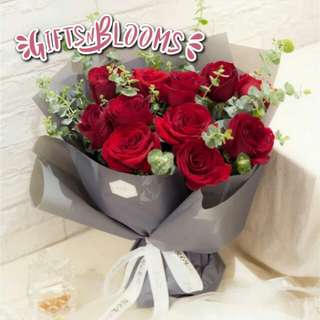 Special Love Bouquet Hers Fresh Flower V5 - HVHUW