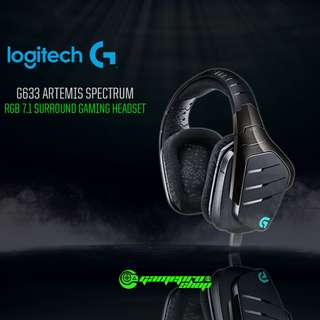 Logitech G633 (981-000606) Artemis Fire 7.1 Surround Sound Gaming Headset