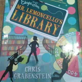 Mr. Lemoncello's library (Hard bond book)