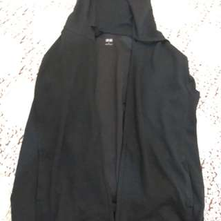 Jaket uniqlo black