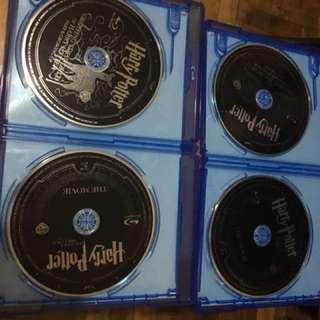 Harry Potter blu ray disc (1&2)