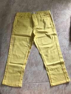 Bossini Yellow Pants