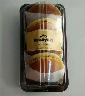 Dorayaki chococheese isi 4pcs