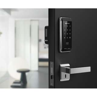 Samsung SHS-2920 Digital Door Lock With Keyless Touchpad Security